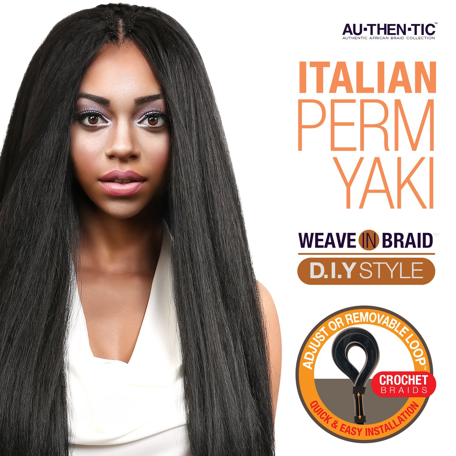 Amazon Authentic Synthetic Hair Crochet Braids Pre Looped