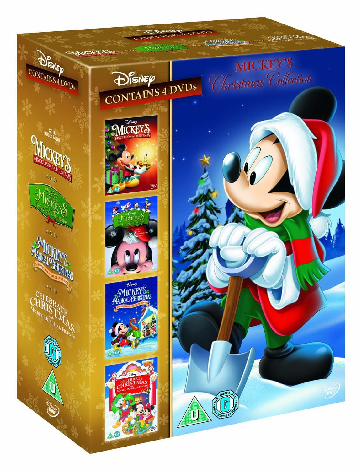 Mickey's Christmas Collection Once Upon, Twice Upon, Magical ...