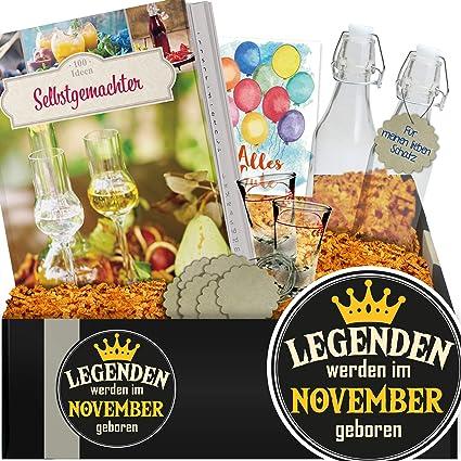 Legenden Werden Im November Geboren Do It Yourself Schnaps