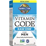Garden of Life Multivitamin for Men - Vitamin Code Raw One Whole Food Vitamin Supplement with Probiotics, Vegetarian, 75…