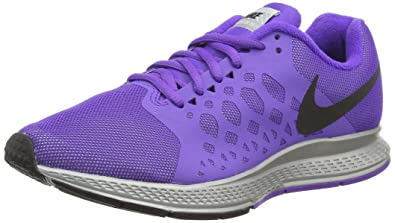 detailed look 8d2c6 e0a2b Nike Womens Zoom Pegasus 31 Flash Reflect Silver Black Hypr Grp Running  Shoe 9