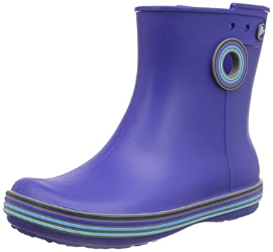 Women's Jaunt Stripes Shorty Rain Boot