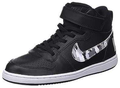 Nike Court Borough Mid Basketball (PSV)  Chaussures de Basketball Mid Garçon c0916f