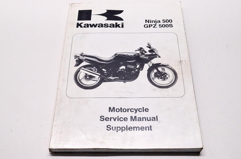 Amazon.com: Kawasaki 99924-1172-57 1994 1999-2005 Ninja 500 GPZ 500S Shop Repair  Service Manual Supplement QTY 1: Automotive