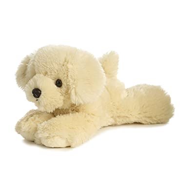 "Aurora Mini Flopsie 8"" Bailie Golden Retriever Dog: Toys & Games"