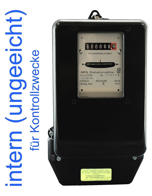 Drehstromzaehler 10(40)A fü r interne Zwecke (max. Last 27, 6 kW) BZR 201040