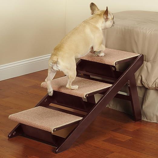 Pet Studio Pine Frame Dog RampSteps, 3 Step