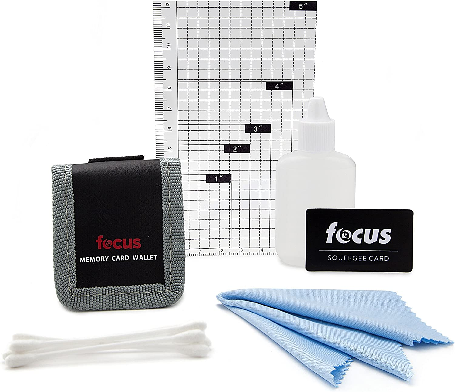 Focus 5-Piece Digital Camera Cleaning /& Accessory Kit