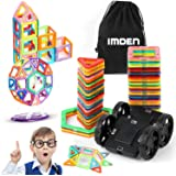 Magnetic Blocks, Magnetic Building Blocks Set 92 PCS, Magnetic Tiles, Educational Toys for Baby/ Kids