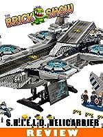LEGO Avengers S.H.I.E.L.D. Helicarrier Review (76042)
