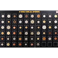 NOVELTY COLLECTIONS 54 World Coins (All Different)