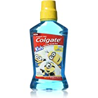 Colgate Kids Minions Bello Bubble Fruit Anticavity Fluoride Rinse, 16.9 Ounce