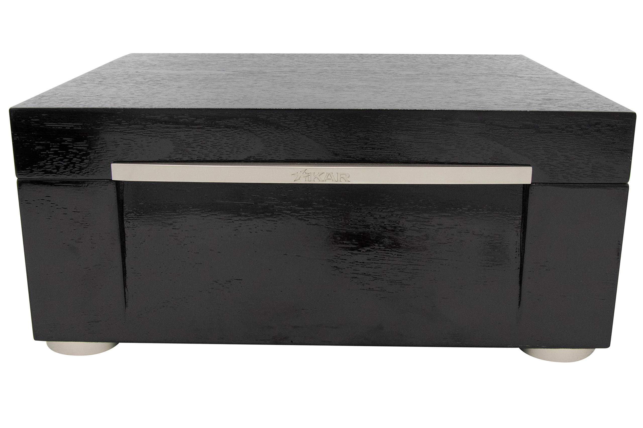 Xikar HP Black Humidor - 75ct