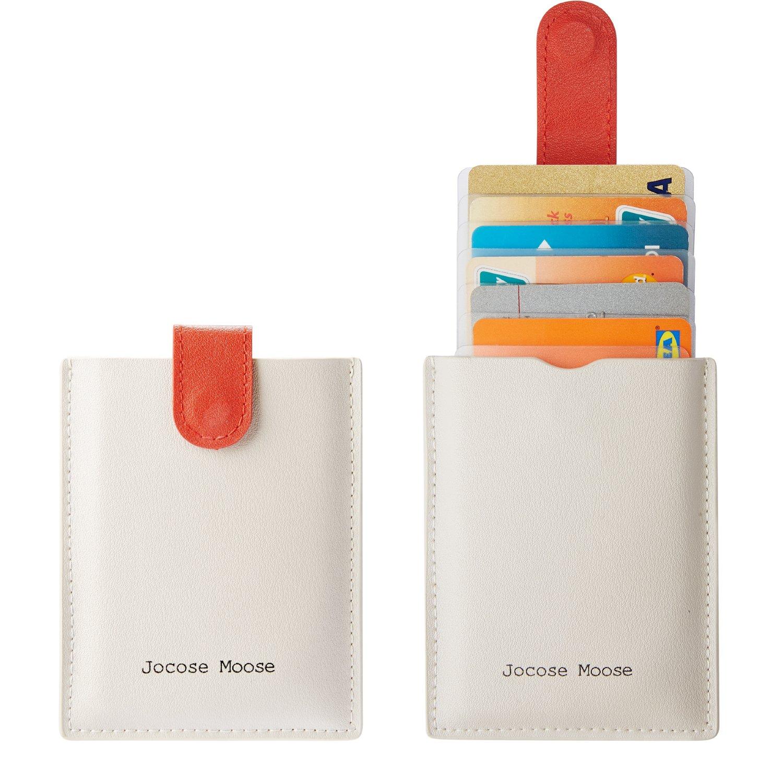 Tarjetero RFID Cartera para Tarjetas de Crédito Pequeño Hombres Mujer: Amazon.es: Equipaje