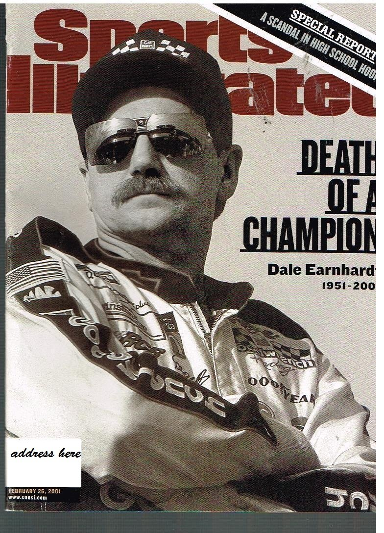 Read Online Sports Illustrated February 26 2001, Dale Earnhardt Death of a Champion PDF