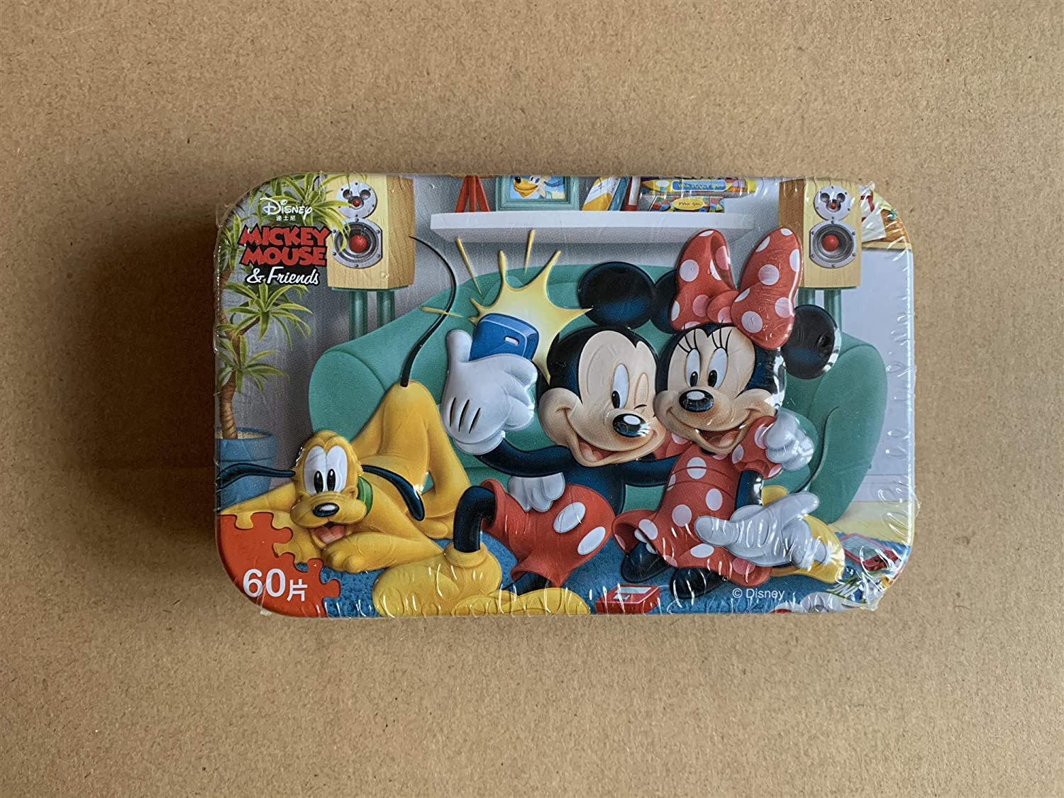 Flower/_piggy Disney Indoor Sport for Kids Educational Puzzle Girl Boy Mickey Mouse Snow White Mickey Mouse