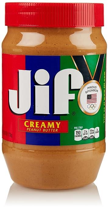Amazon.com : Jif Peanut Butter Creamy 16 oz : Grocery & Gourmet Food