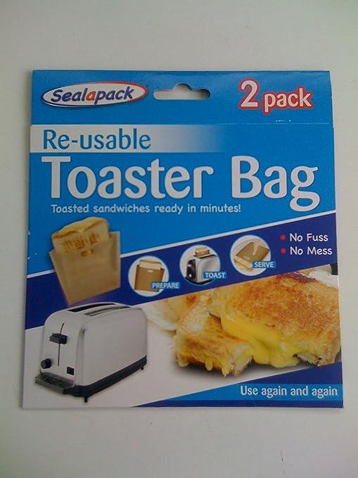 Amazon.com: 151 Seal-A-Pack reutilizable bolsa de tostador 2 ...