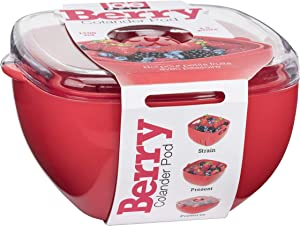 MSC International Berry Colander Pod by Joie - wash, Strain, Serve and Store (Large Pod)