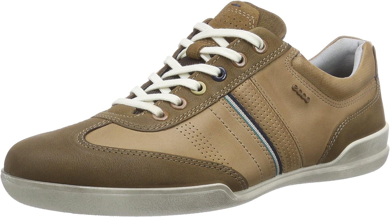 ECCO Men's Enrico Lace Sneaker M, Camel