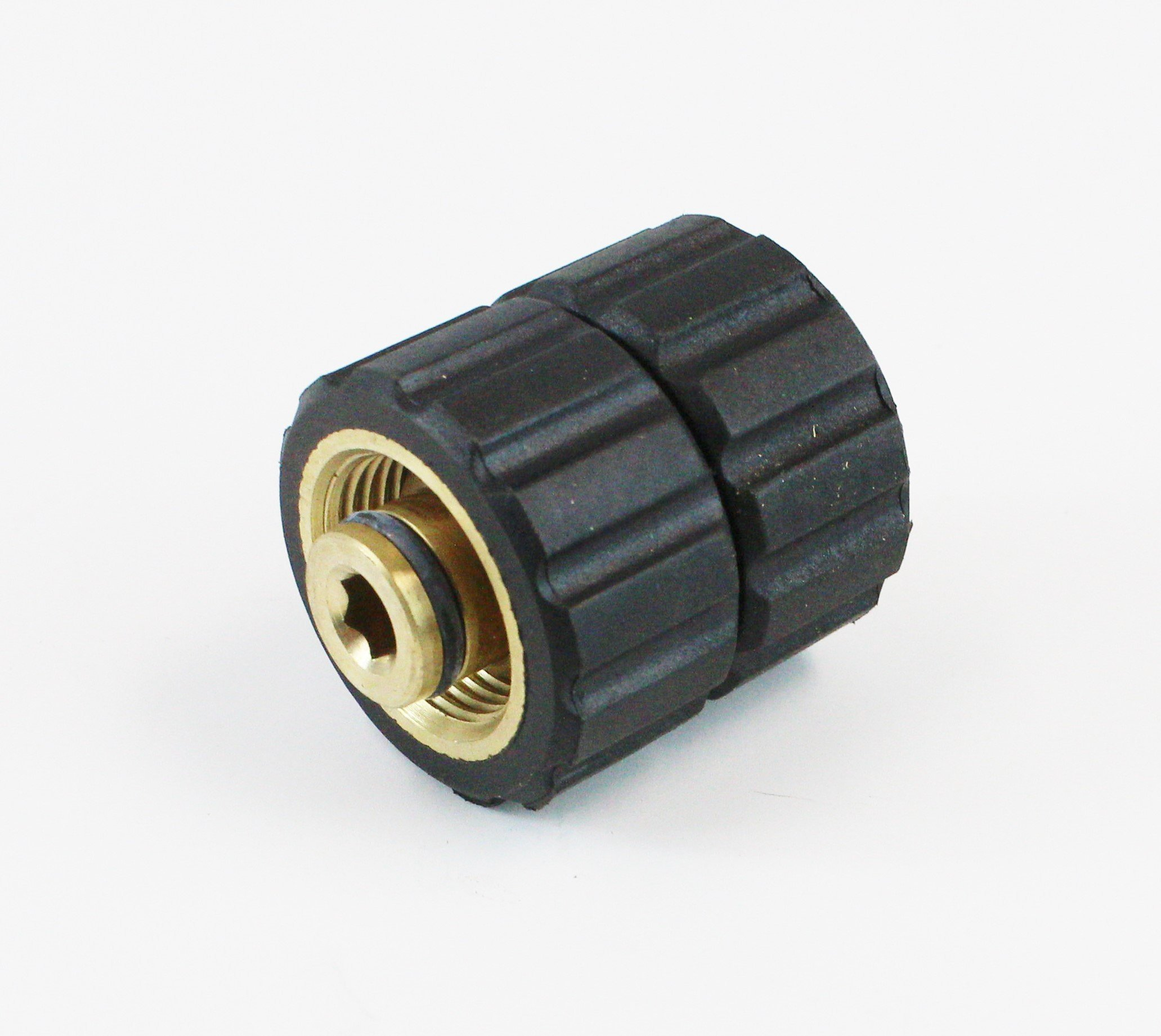 Sellerocity Brand Pressure Washer Twist Type Quick Connector Coupler 22mm Female, Both Ends, Replaces General D10041 Mi-T-M Mitm 331212 by Sellerocity