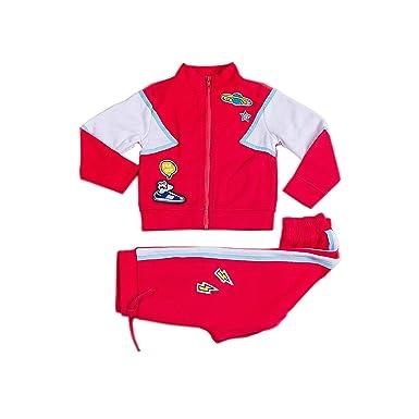 Kinderkind Chándal para niño: Tallas 2T-3T-4T-5T-6-7 - Rojo - 24 ...