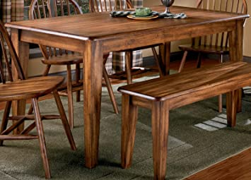 Amazon.com - Berringer Rectangular Dining Room Table (Table Only ...
