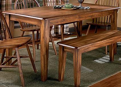 Ashley Furniture Signature Design   Berringer Rectangular Dining Room Table    Vintage Casual   Rustic Brown