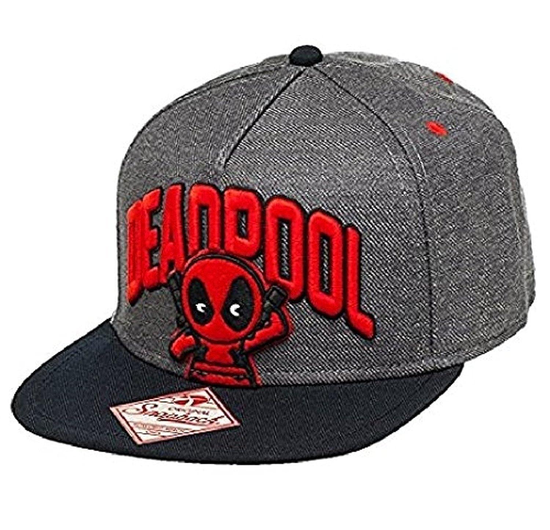 Gorra snapback del sombrero Flatpool de Deadpool Kawaii: Amazon.es: Ropa y accesorios