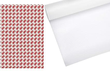 Store2508 PVC Non-Slip Liner Drawer Mat, 45x500cm, Transparent