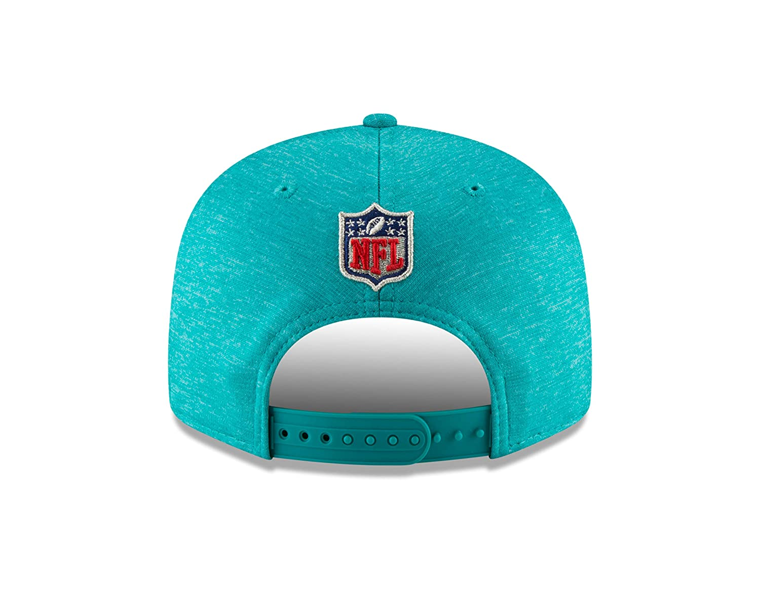 ac0bc2b90 Amazon.com   New Era Miami Dolphins 2018 NFL Sideline Road Official 9FIFTY  Snapback Hat   Sports   Outdoors