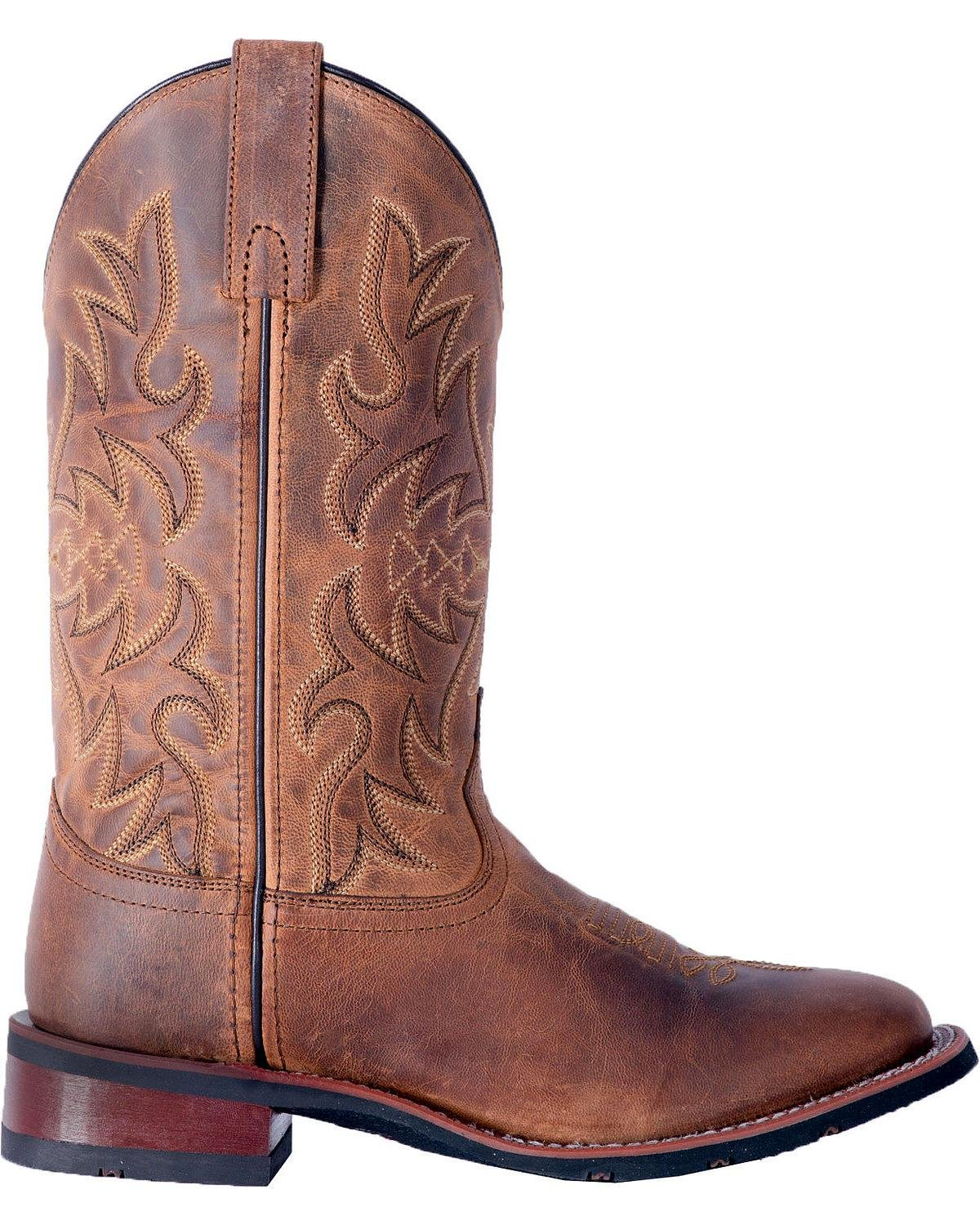 Laredo Women's Anita Cowgirl Boot Square 8 Toe - 5602 B079N945WN 8 Square B(M) US|Tan e928a6