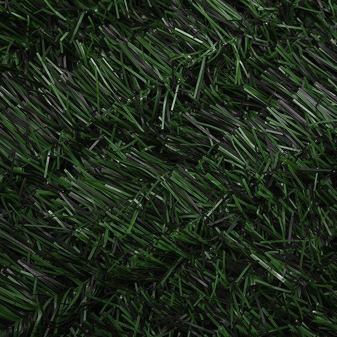 Tuff Concepts Valla de plástico para jardín (privacidad), color verde: Amazon.es: Jardín