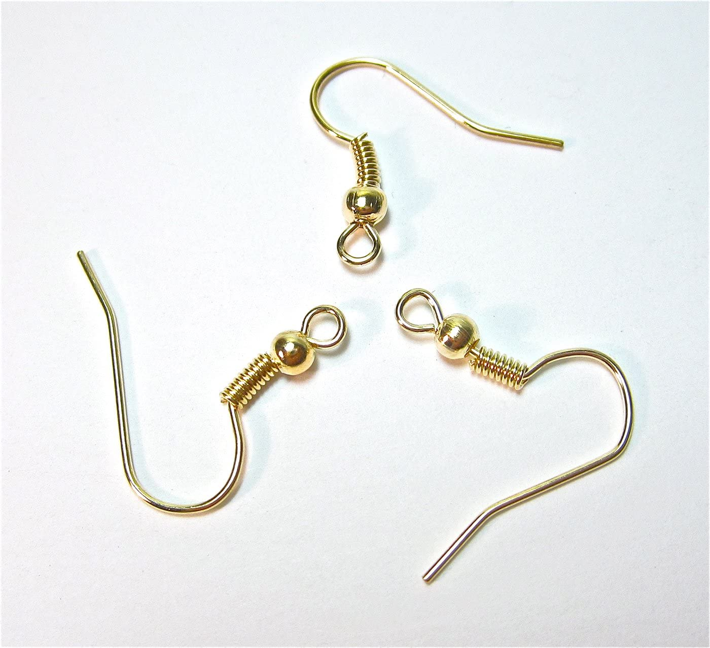 bronze Bacabella 15089 Lot de 50 crochets pour boucles doreilles /à d/écorer soi-m/ême 18 x 17 mm