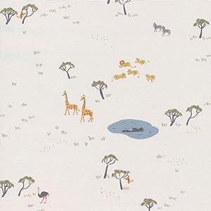Cloud9 Quilt Fabrics Organic Garden of Eden Precious Kingdom