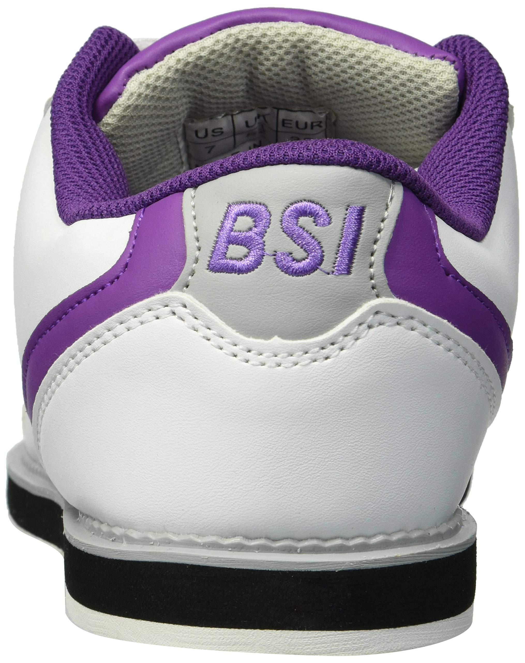 BSI Women's 460 Bowling Shoe, White/Purple, Size 7 by BSI (Image #2)