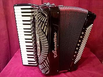 Nuevo 2 + 2 de los Balcanes serenellini Piano acordeón 41 ...