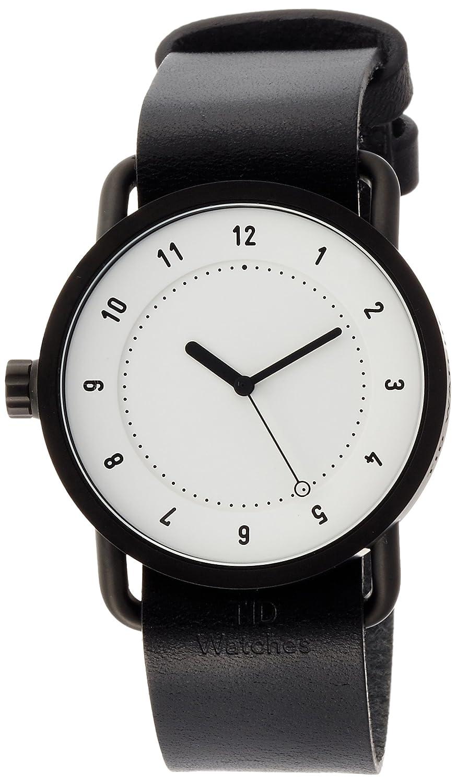 [ティッドウォッチ]TID Watches デザイナーズウォッチ 特別ノベルティトートバッグ付属 延長保証付き TID01-WH/BK TOTE 【正規輸入品】 B01NCKMCIP