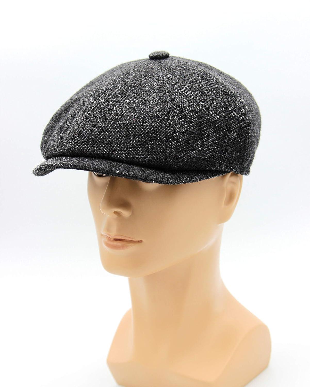 8184accf8cc755 Amazon.com: Hat type Newsboy Cap or Jay Gatsby, Men's Newsboy Cap, Newsboy  Hat, Gatsby Cap, Tweed Flat Cap, Men's Cap, Vintage style cap.: Handmade