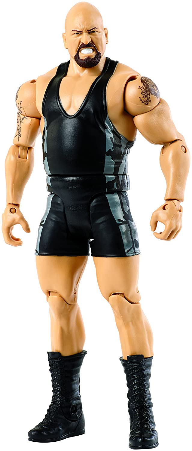 WWE FMH57 Wrestle Mania Big Show Figurine, Multi-Colour Mattel Movie & TV