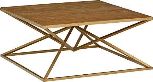 Amazon Brand Rivet Modern Pine-Topped Coffee Table