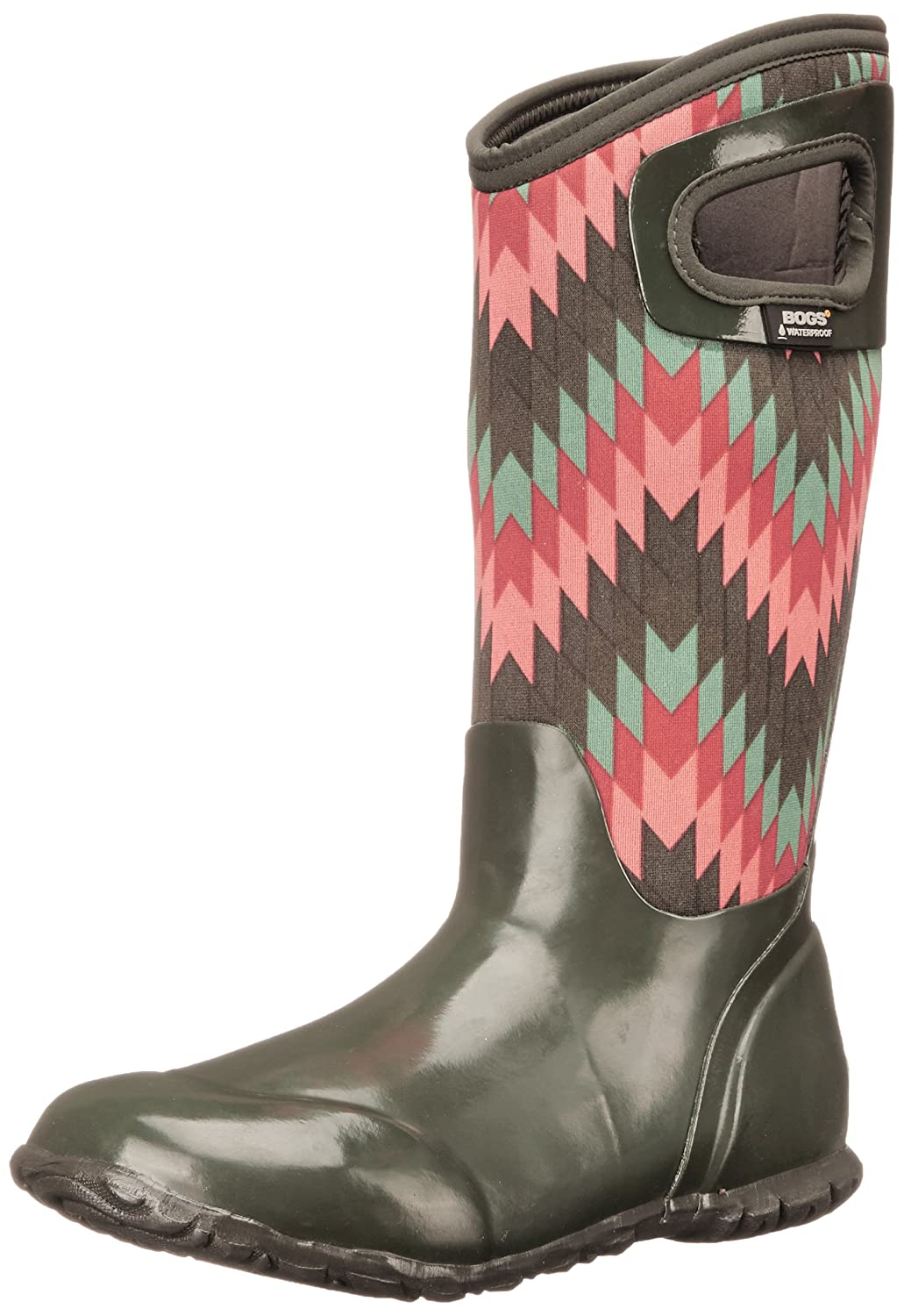 BogsレディースNorth Hampton Native All Weather Rain Boot B00QMQ4AZ2  Loden Multi 6 B(M) US