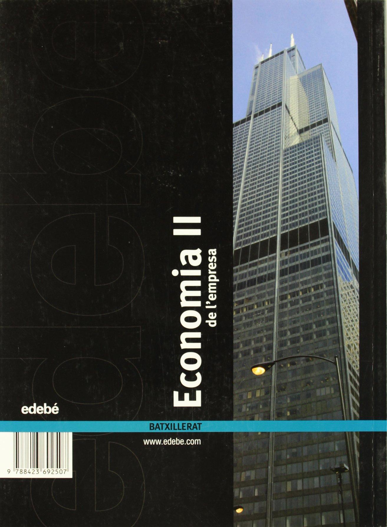 Economia de LEmpresa II - 9788423692507: Amazon.es: Edebé, Obra Colectiva: Libros