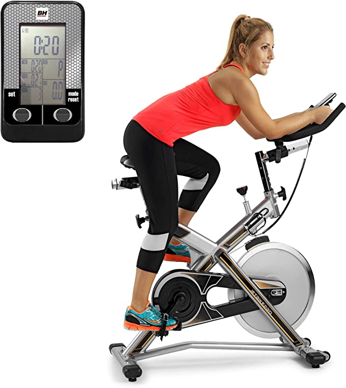 BH Fitness MKT Jet Bike Pro H9162RFFR Bicicleta de Biking. Freno ...