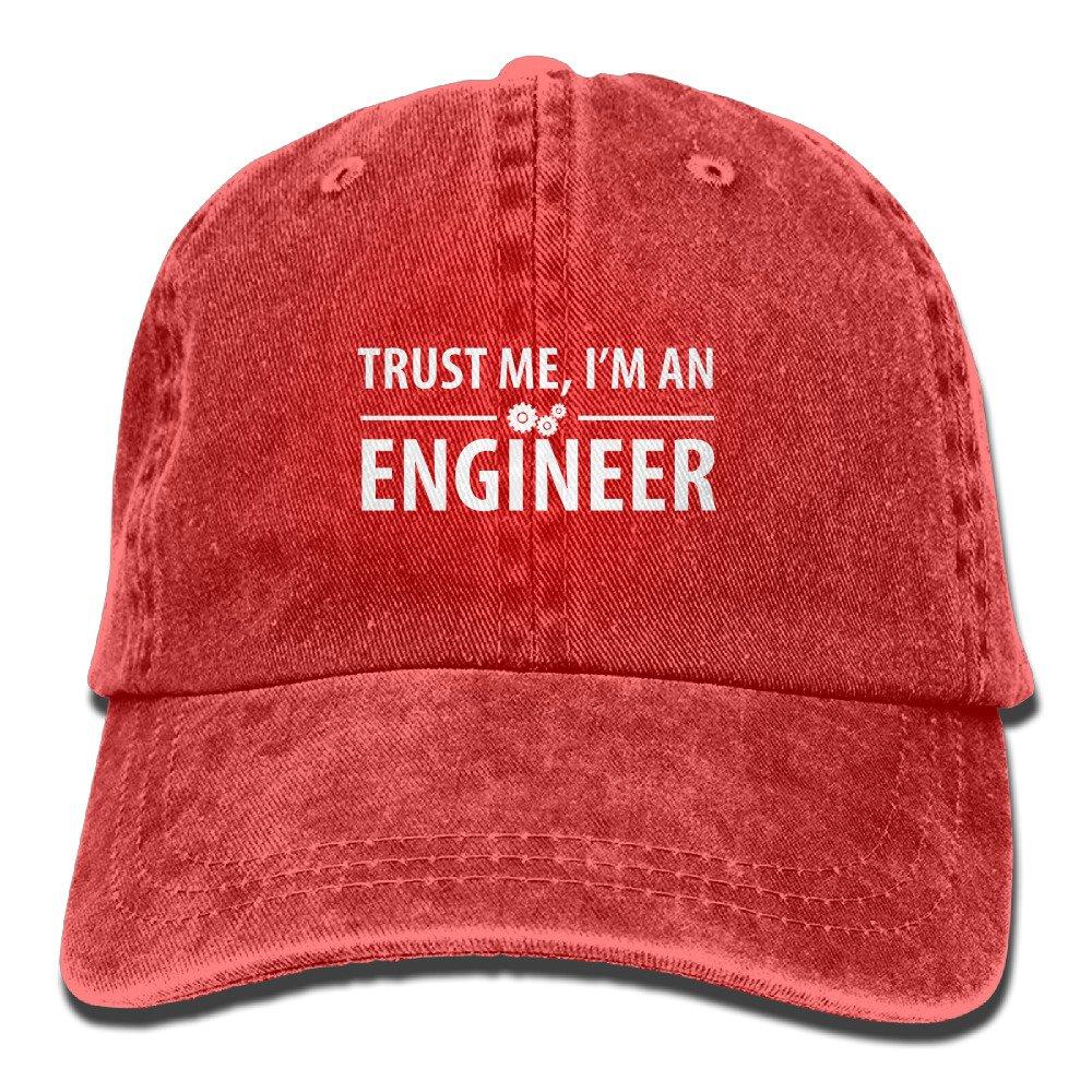 Trust Me Im an Engineer Cotton Adjustable Jean Cap Baseball Caps ForAdult