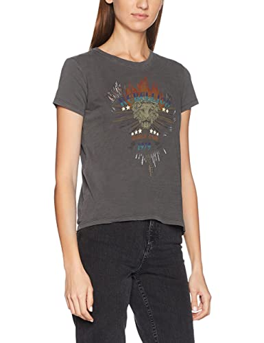 Only Onlnew Dixie S/S Rebellion/Wings Box ESS, Camiseta para Mujer