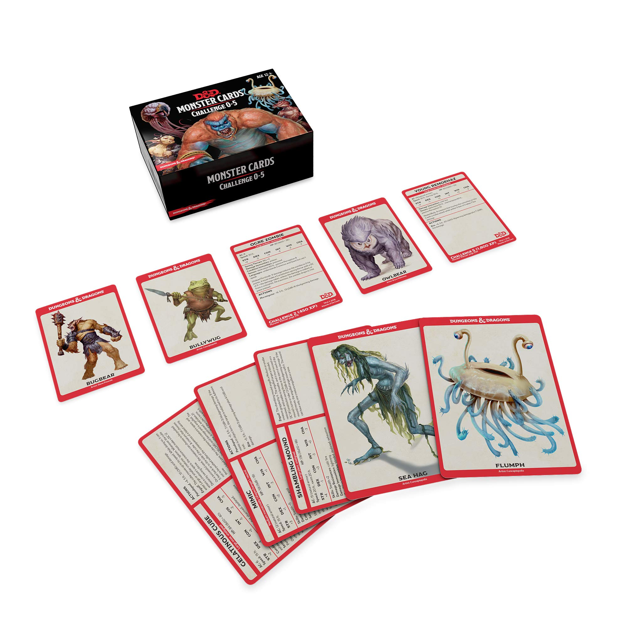 Dungeons & Dragons Spellbook Cards: Monsters 0-5 D&d Accessory: Amazon.es: Wizards Rpg Team: Libros en idiomas extranjeros