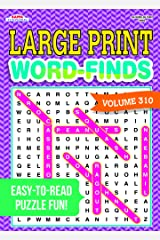 Large Print Word-Finds Puzzle Book-Word Search Volume 310 Perfect Paperback