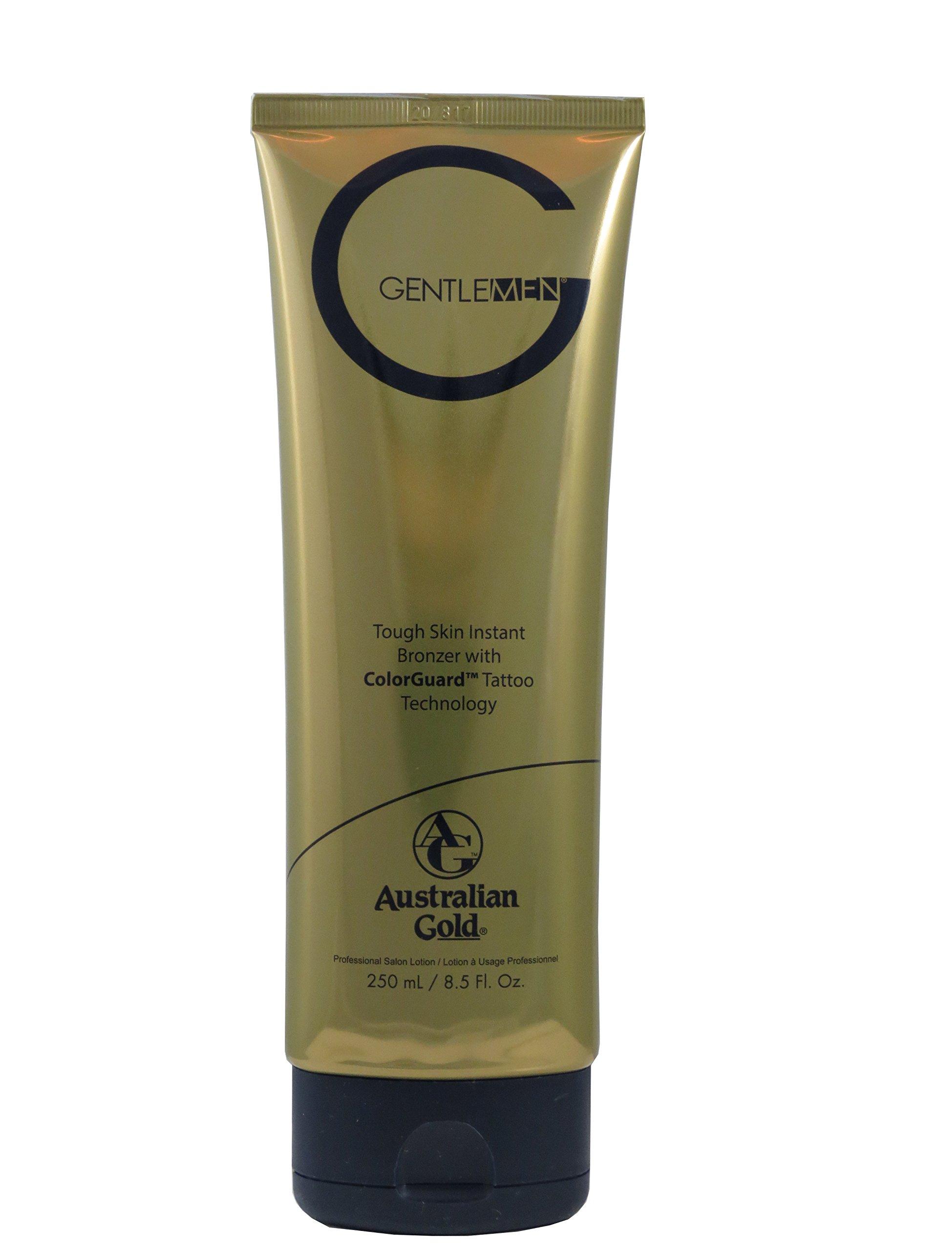 Australian Gold G Gentlemen Natural Bronzer - Men's Tanning Lotion 8.5 Ounce