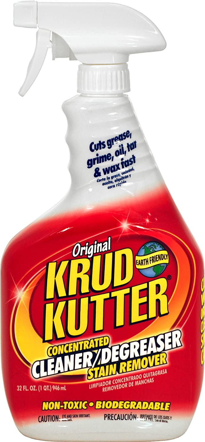 KRUD KUTTER KK32/6 Original Concentrated Cleaner/Degreaser, 32-Ounce, 6-Pack
